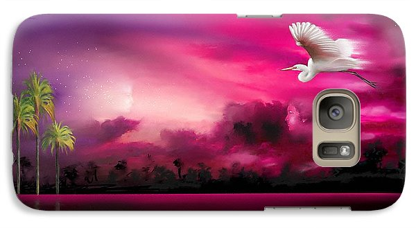 Galaxy Case featuring the painting Southern Magic by S G