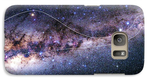 Southern Milky Way Galaxy S7 Case