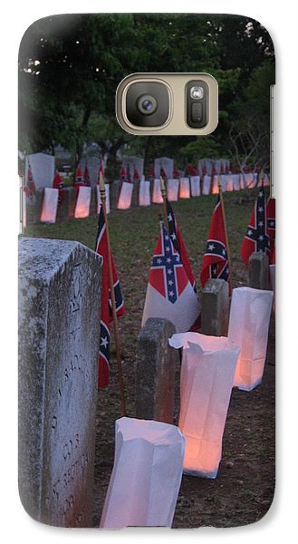 Galaxy Case featuring the photograph Southern Sadness by Lyn Calahorrano