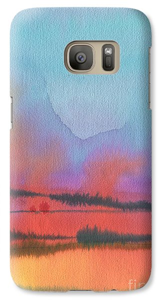 Galaxy Case featuring the painting Southland by Donald Maier