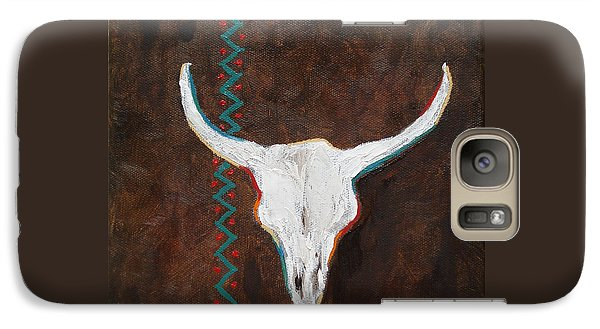 Galaxy Case featuring the painting Southwestern Influence by Judith Rhue