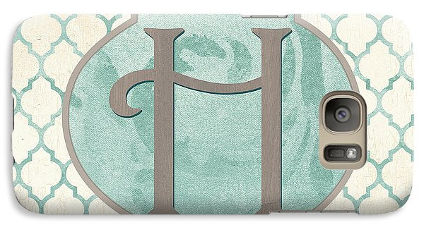 Spa Monogram Galaxy Case by Debbie DeWitt