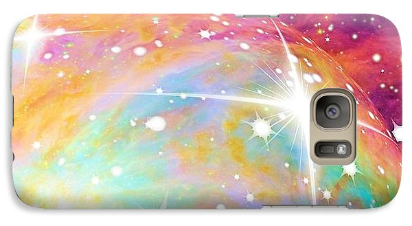 Galaxy Case featuring the photograph Space by Elizabeth Budd