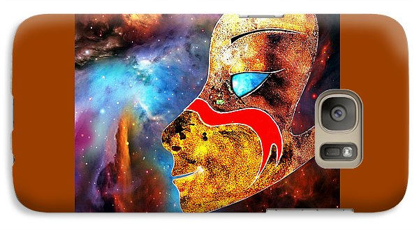 Galaxy Case featuring the painting Space  Glory by Hartmut Jager