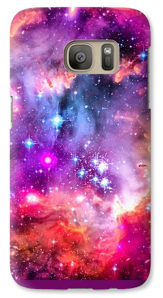 Space Image Small Magellanic Cloud Smc Galaxy Galaxy S7 Case by Matthias Hauser