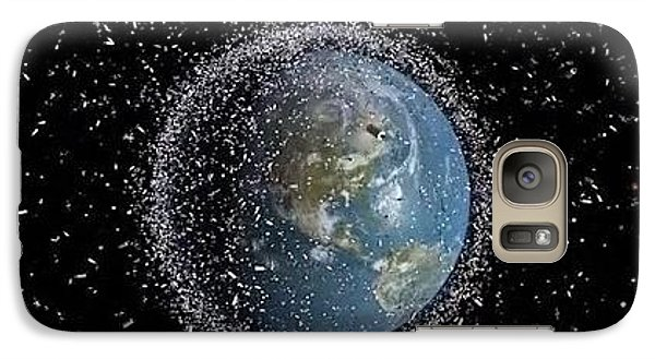 Galaxy Case featuring the photograph Space Junk by Science Source
