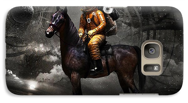 Space Tourist Galaxy S7 Case