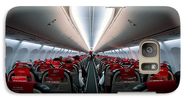 Airplanes Galaxy S7 Case - Space Travel by Sebastian-alexander Stamatis