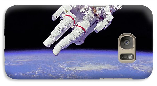 Galaxy Case featuring the photograph Space Walk 1 by Rod Jones