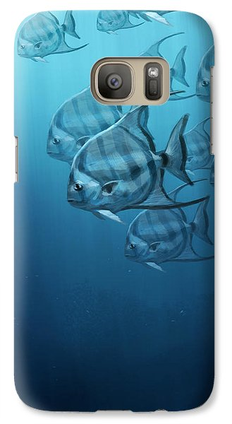 Spade Fish Galaxy S7 Case by Aaron Blaise