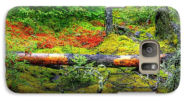 Galaxy Case featuring the photograph Spagnum Moss On The Fen  by Larry Trupp