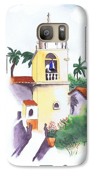 Galaxy Case featuring the painting Spanish Mission by June Holwell