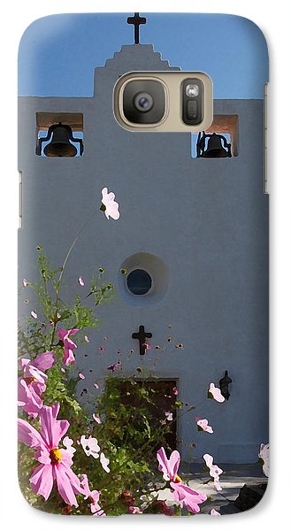 Galaxy Case featuring the photograph Spanish Mission by Susan Rovira