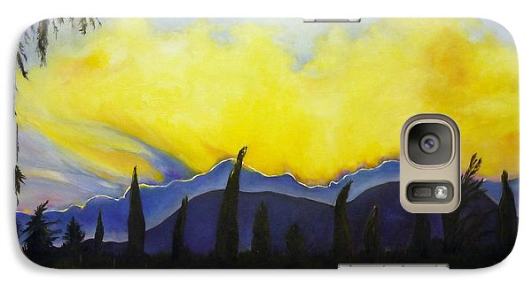 Galaxy Case featuring the painting Spanish Serenade by Nadine Dennis