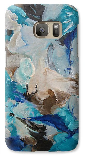 Galaxy Case featuring the painting Spark 22 by Elis Cooke