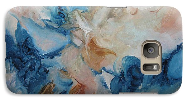 Galaxy Case featuring the painting Spark Xvii by Elis Cooke