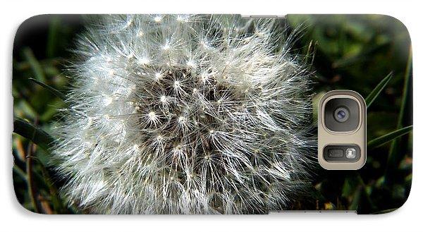 Galaxy Case featuring the photograph Sparkler - Dandelion Flower by Ramabhadran Thirupattur