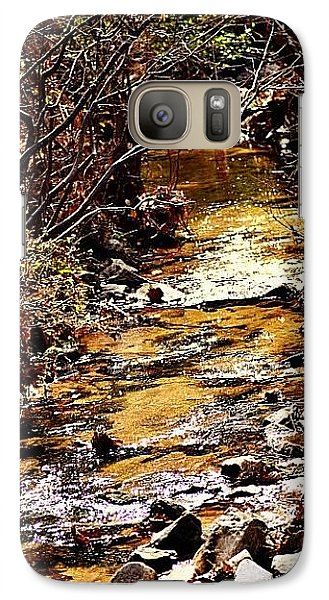 Galaxy Case featuring the photograph Sparkling Creek by Tara Potts