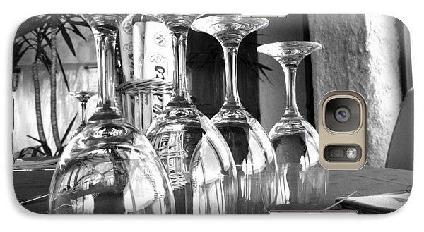 Galaxy Case featuring the photograph Sparkling Glasses by Oscar Alvarez Jr