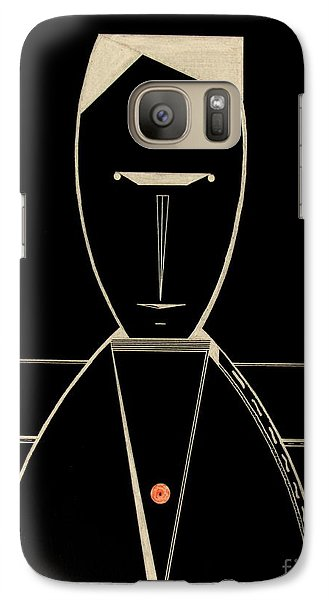 Galaxy Case featuring the drawing Speak by Bill OConnor