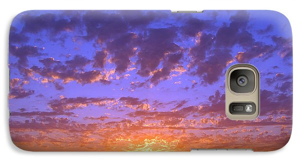 Galaxy Case featuring the photograph Spectacular Sunset  by Debra Thompson