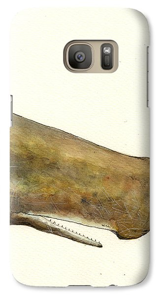 Sperm Whale First Part Galaxy Case by Juan  Bosco