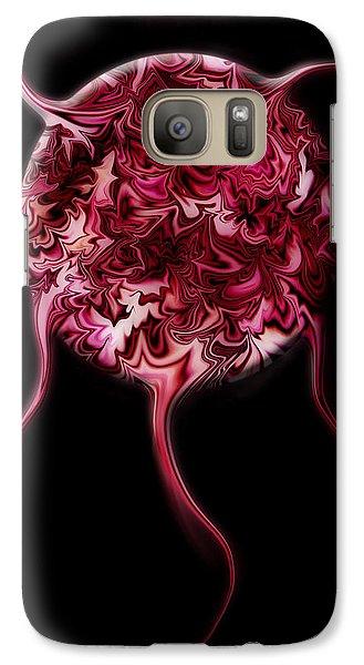 Galaxy Case featuring the digital art Spheratozoide 2 by Selke Boris