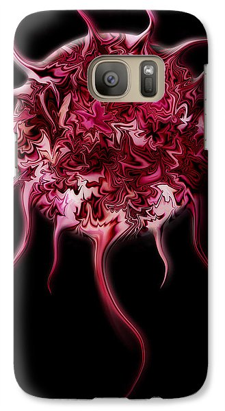 Galaxy Case featuring the digital art Spheratozoide 3 by Selke Boris