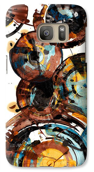Galaxy Case featuring the painting Spherical Happiness Series - 993.042212 by Kris Haas