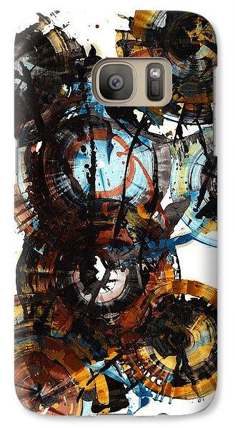Galaxy Case featuring the painting Spherical Joy Series - 995.042212 by Kris Haas
