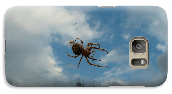 Galaxy Case featuring the photograph Spider by Jane Ford