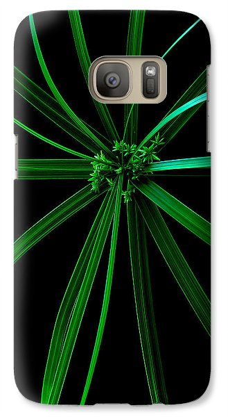 Galaxy Case featuring the photograph Spider Plant by Marwan Khoury
