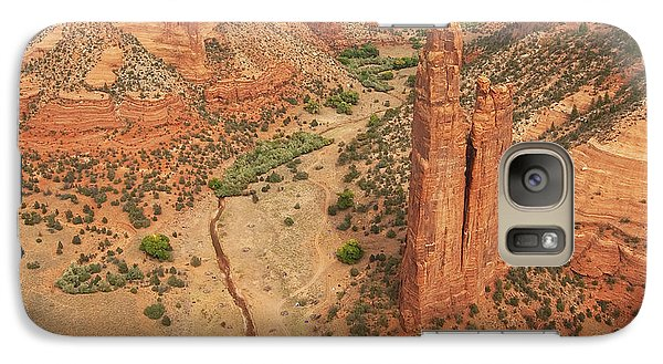 Galaxy Case featuring the photograph Spider Rock by Bob and Nancy Kendrick
