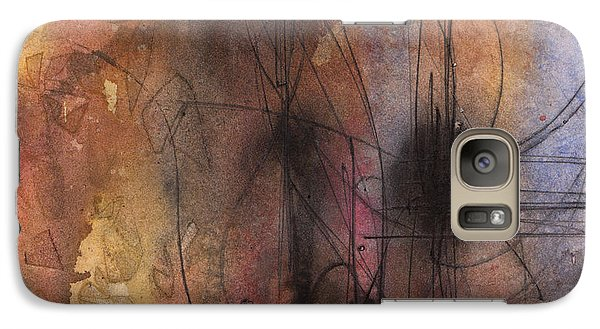 Galaxy Case featuring the painting Spider Smush by Rebecca Davis