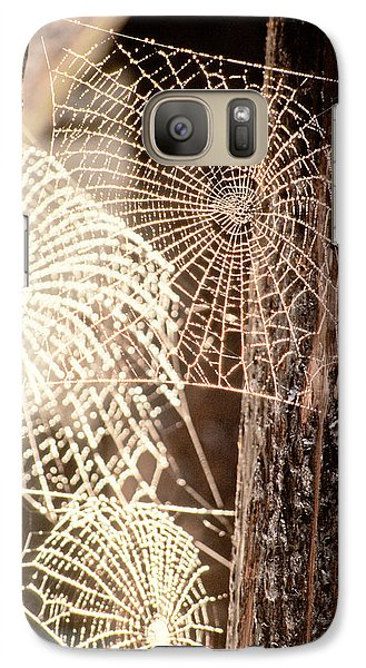 Spider Webs Galaxy S7 Case by Anonymous