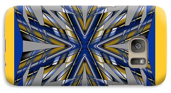 Galaxy Case featuring the digital art Spike 1 by Brian Johnson