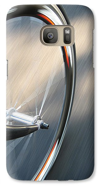 Bicycle Galaxy S7 Case - Spin by Jeff Klingler