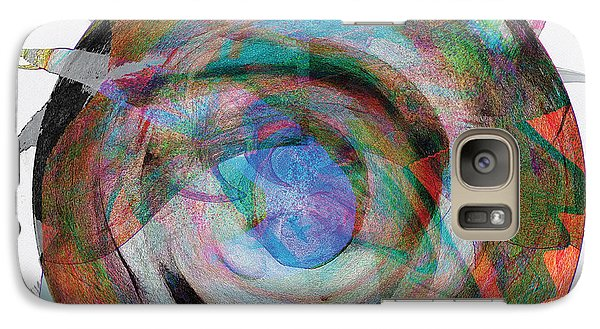 Galaxy Case featuring the digital art Spin One by David Klaboe