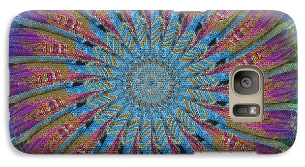 Galaxy Case featuring the photograph Spin To Blur by Barbara MacPhail