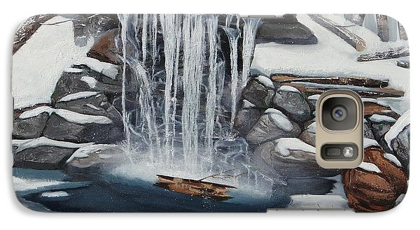 Galaxy Case featuring the painting Sping Summer Fall Winter by Susan Roberts
