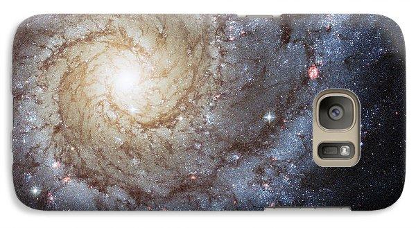 Spiral Galaxy M74 Galaxy S7 Case by Adam Romanowicz
