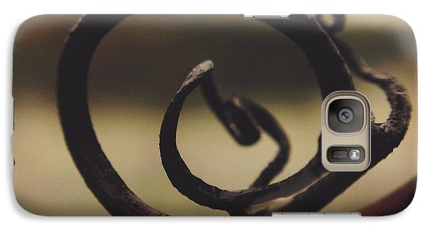 Galaxy Case featuring the photograph Spiral Inside by Nikki McInnes