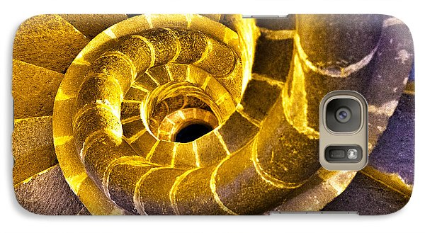Galaxy Case featuring the photograph Spiral Staircase IIi by John  Bartosik