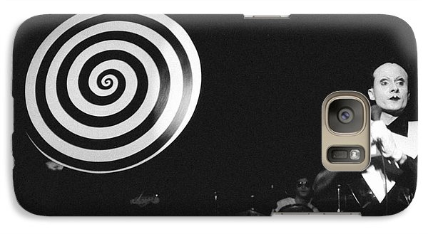 Galaxy Case featuring the photograph spiral universe of Klaus by Steven Macanka
