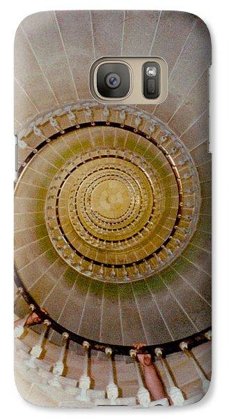 Spirale Du Phare Des Baleines Version Carree Galaxy S7 Case