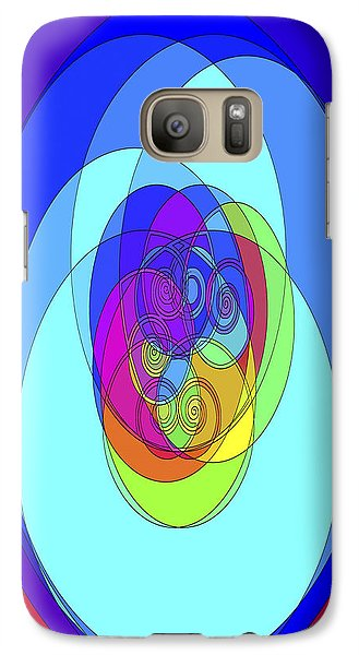Galaxy Case featuring the digital art Spirals - Phone Case Design by Gregory Scott