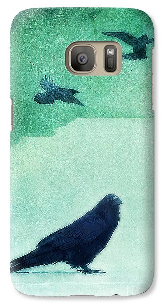Spirit Bird Galaxy S7 Case by Priska Wettstein