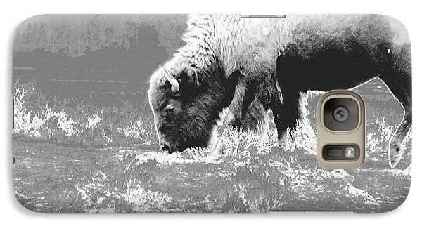 Galaxy Case featuring the photograph Spirit Bison by Ann Johndro-Collins