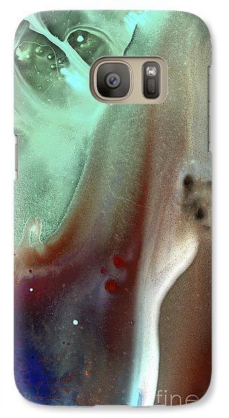 Galaxy Case featuring the painting Spirit Guide by Christine Ricker Brandt
