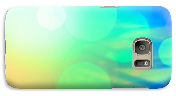 Galaxy Case featuring the photograph Spirit In The Sky by Dazzle Zazz